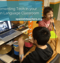 Implementing Tech in Foreign Language